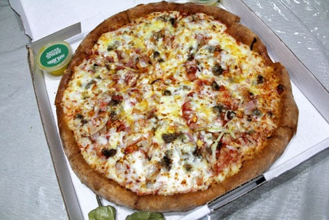 Papa John's Bacon Cheeseburger Pizza