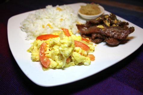 Beef Tapa (Fish Sauce Marinade)