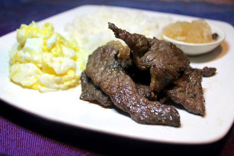 Beef Tapa (Soy Sauce Sauce Marinade)