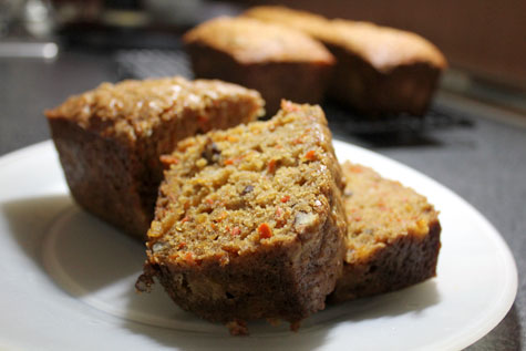 Carrot Pineapple Loaf‏‏