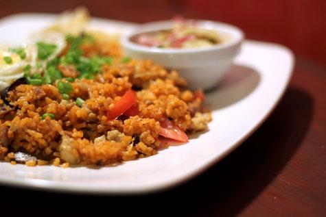Crab Roe Rice
