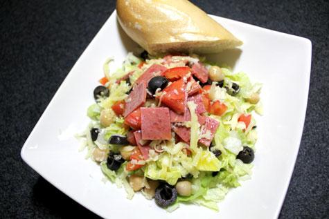 Chopped Salad ala La Scala Beverly Hills