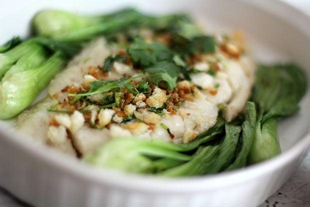 Hainanese Fish Rice