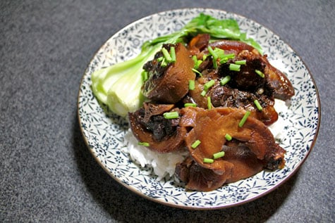 Chinese-Style Braised Oxtail‏