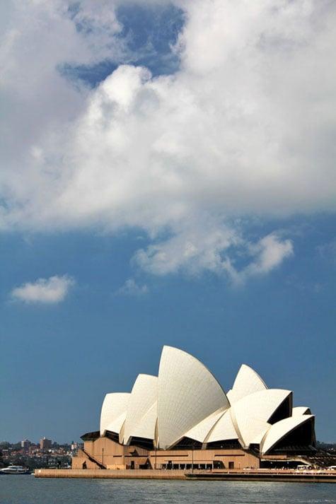 Opera House and Harbour Bridge, Sydney, Australia