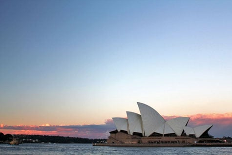 Opera House and Harbour Bridge, Sydney, Australia