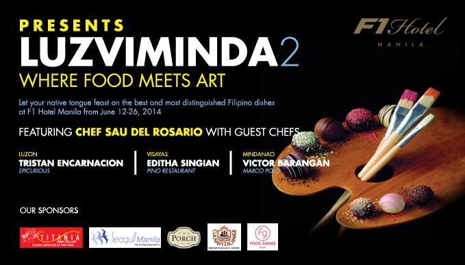 Luzviminda 2: Where Food Meets Art at F1 Hotel Manila