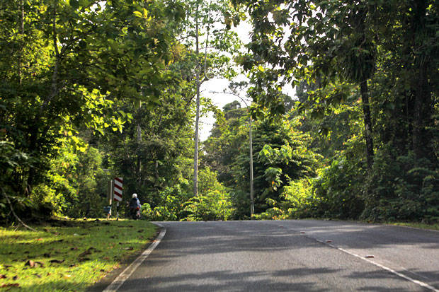 Driving on the Wrong Side of the Road in Langkawi, Malaysia