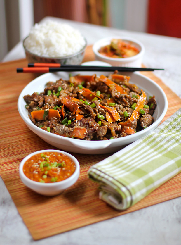 Beef Bulgogi with Ssamjang