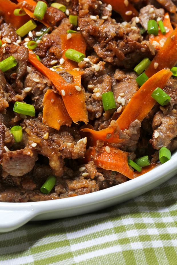 Beef Bulgogi with Ssamjang