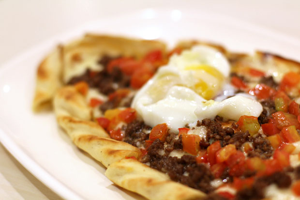 Salt & Pepper's Ground Beef Pide
