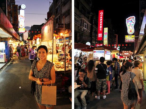 Raohe Night Market, Taipei City, Taiwan, ROC