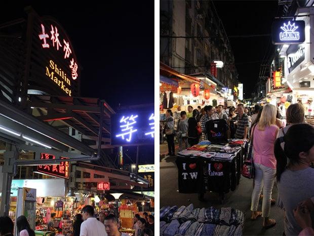 Shilin Night Market, Taipei City, Taiwan, ROC