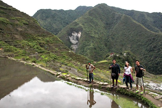 Tappiya Falls in Batad Rice Terraces, Banaue, Ifugao