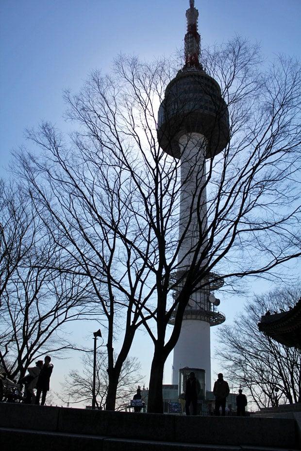 On Lovelocks & Lofty Expectations at N Seoul Tower, Seoul, South Korea