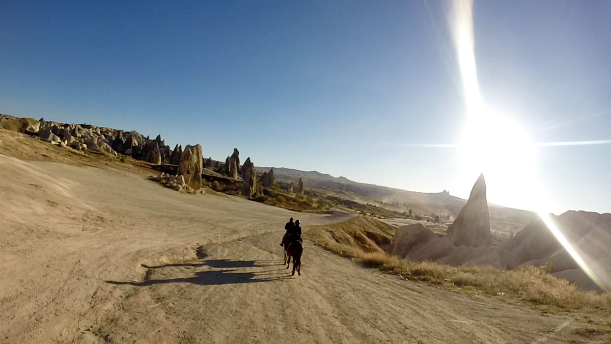 Exploring the Moonscape of Cappadocia, Turkey on Horseback