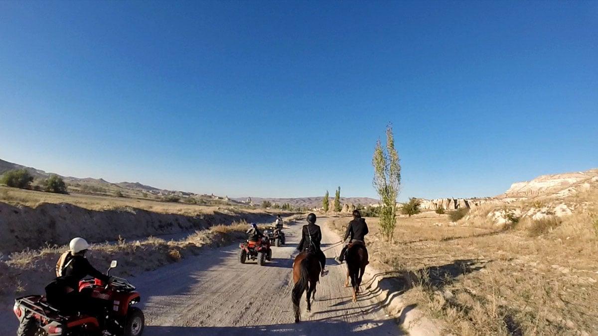 Exploring the Moonscape of Cappadocia, Turkey on Horseback