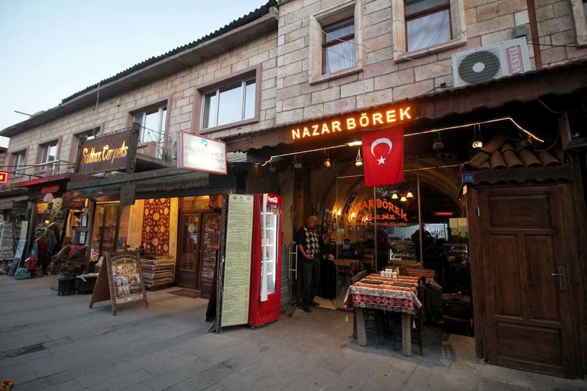 Nazar Borek & Cafe:  Where to Eat in Göreme, Cappadocia, Turkey