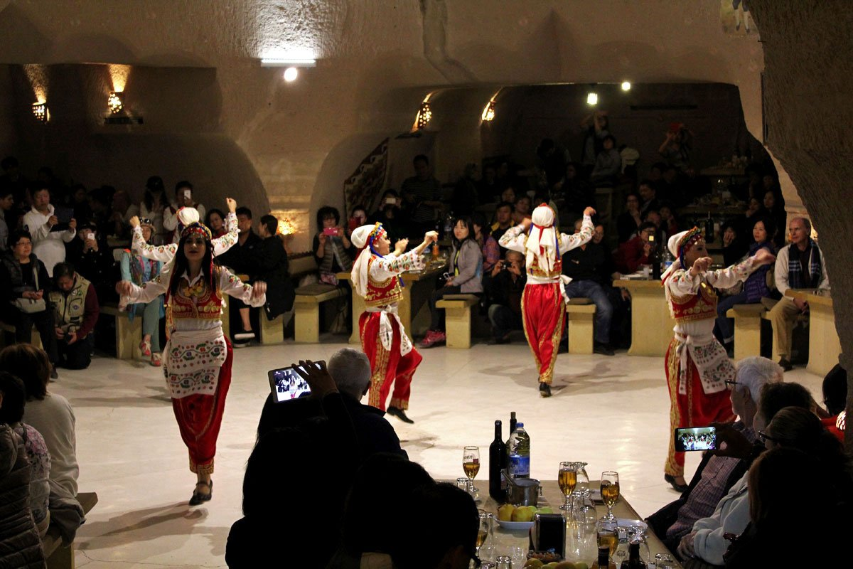 Turkish Night: An Evening of Dance, Food, and Free-flowing Wine in Cappadocia, Turkey