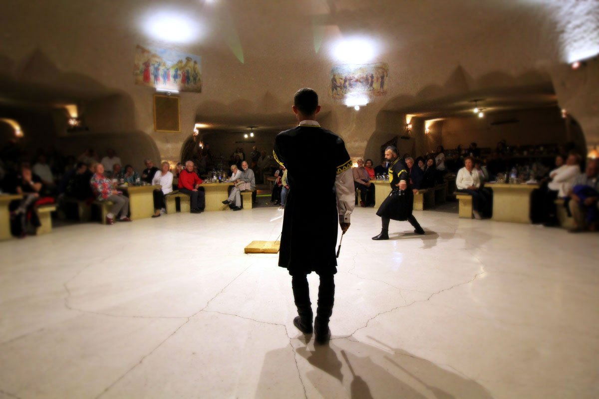 Turkish Night: An Evening of Dance, Food, and Free-flowing Wine in Cappadocia, Turkey