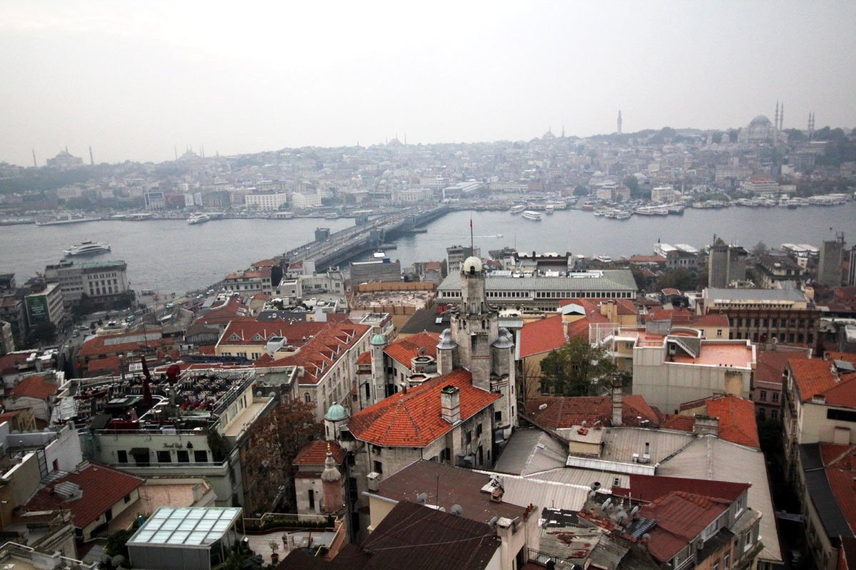 Walk Across Galata Bridge and Explore Beyoğlu and Dolmabahce Palace