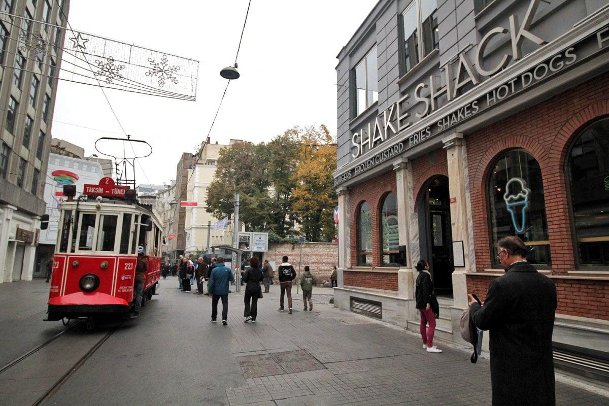 Istiklal Caddesi, Istanbul, Turkey