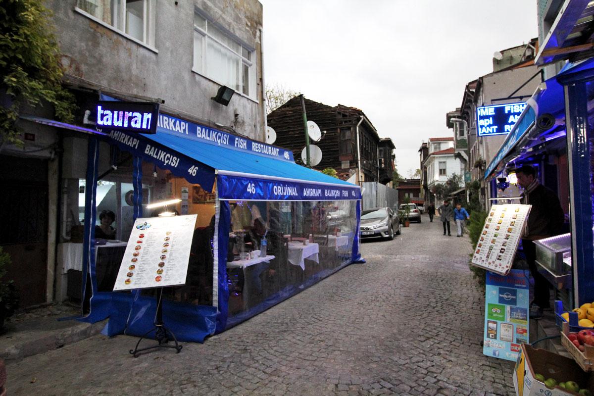 Ahırkapı Balıkçısı:  Where to Enjoy Fresh Fish in Sultanahmet, Istanbul, Turkey