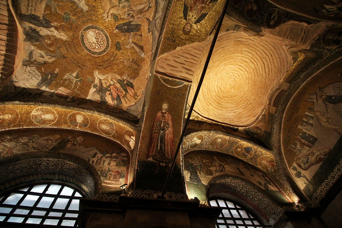 Chora Church:  Home to Some of the Most Beautiful Mosaics in Istanbul, Turkey