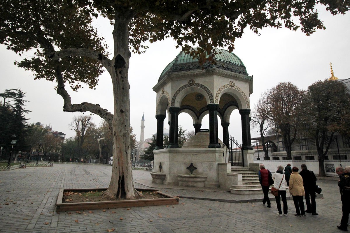 At Meydani, Istanbul, Turkey
