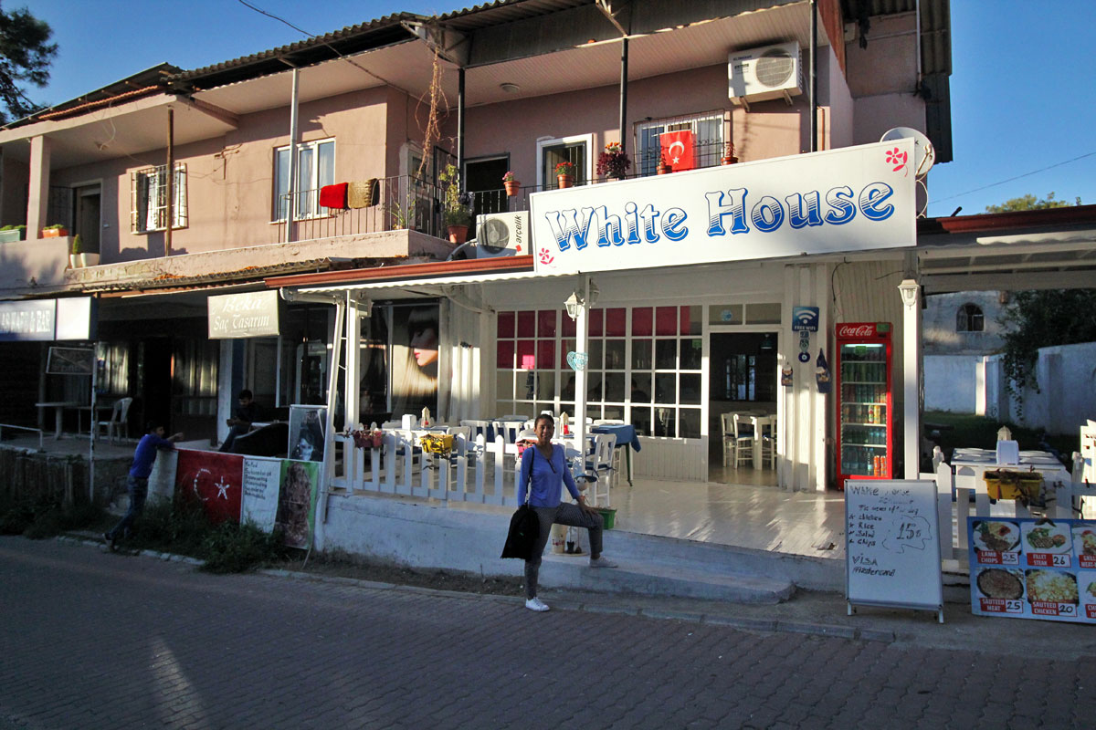 White House: Where to Eat in Pamukkale, Denizli, Turkey