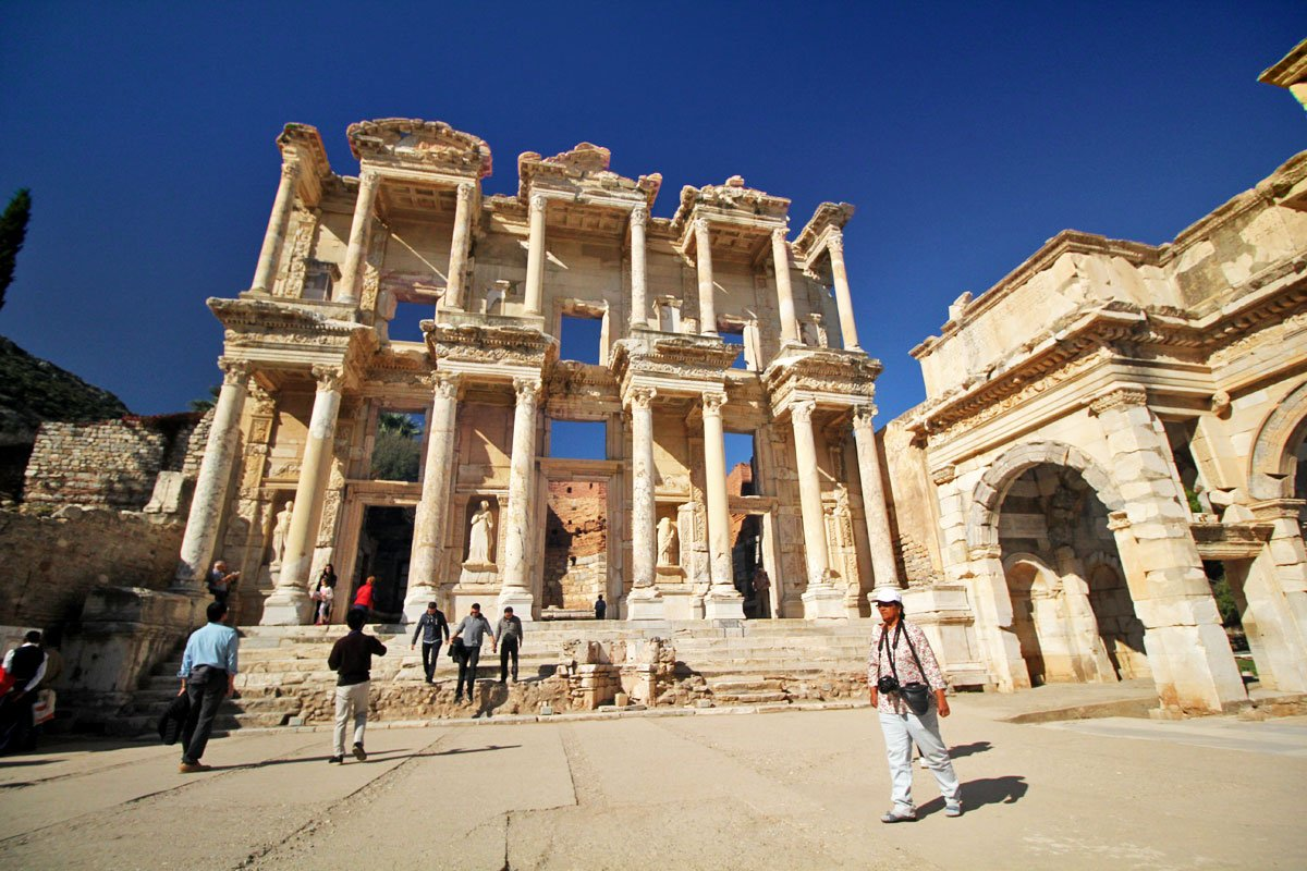 Ephesus Archaeological Site, Selçuk-İzmir, Turkey