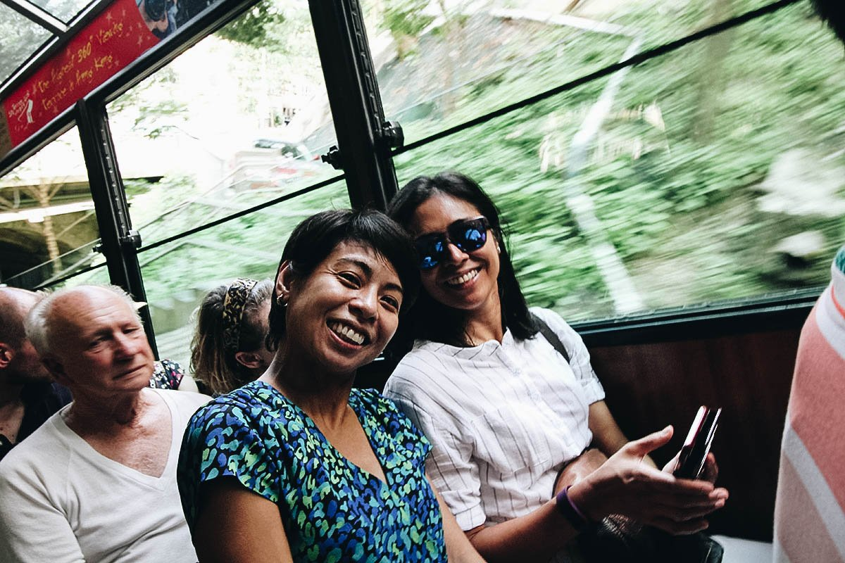 Take the Peak Tram to Sky Terrace 428 and Trick Eye Museum in Hong Kong