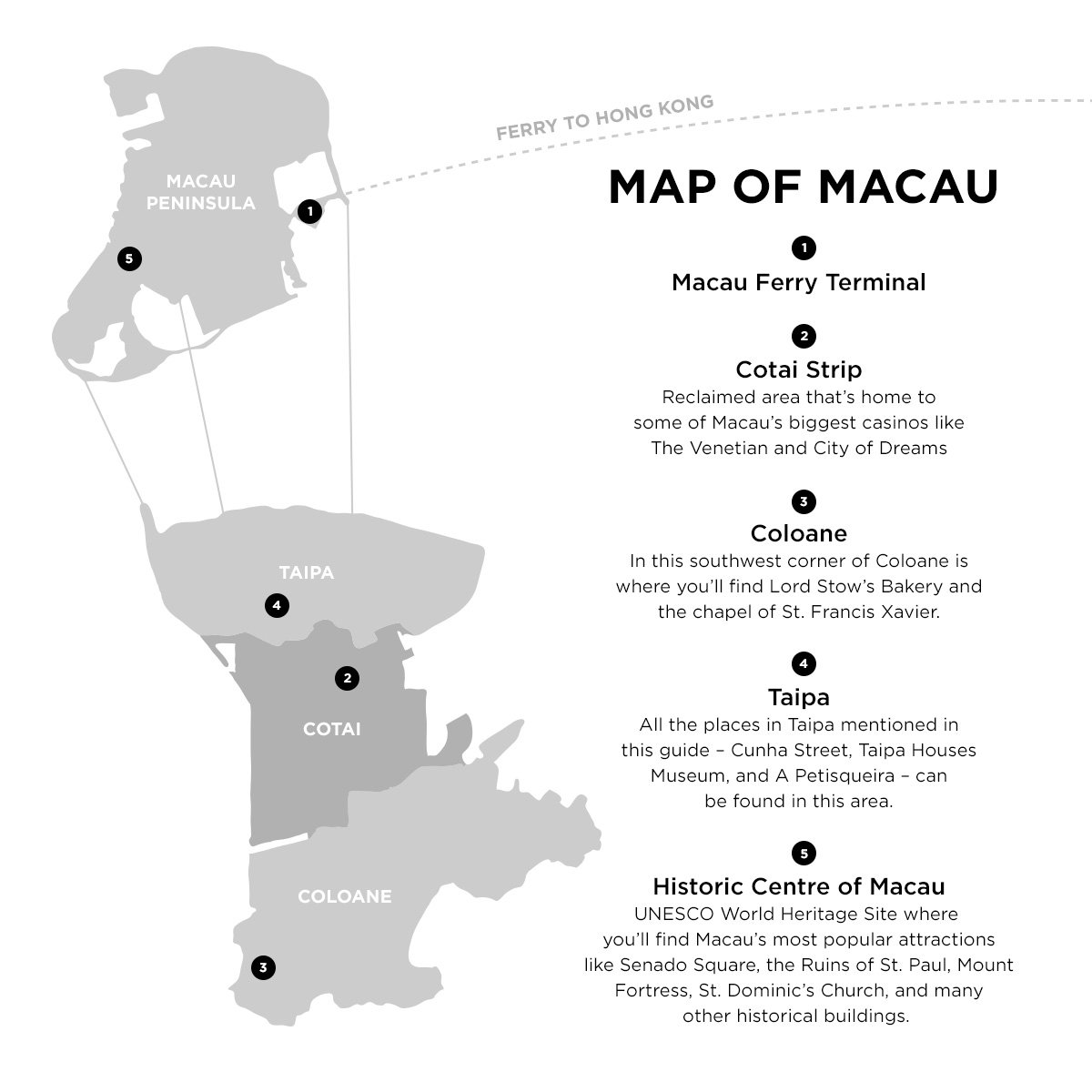 how to go to macau from kowloon
