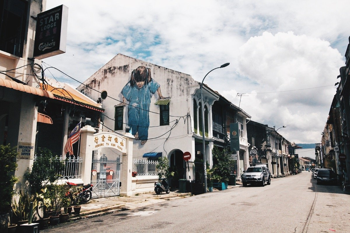Gotta Catch 'Em All!  Go Street Art Hunting in George Town, Penang, Malaysia