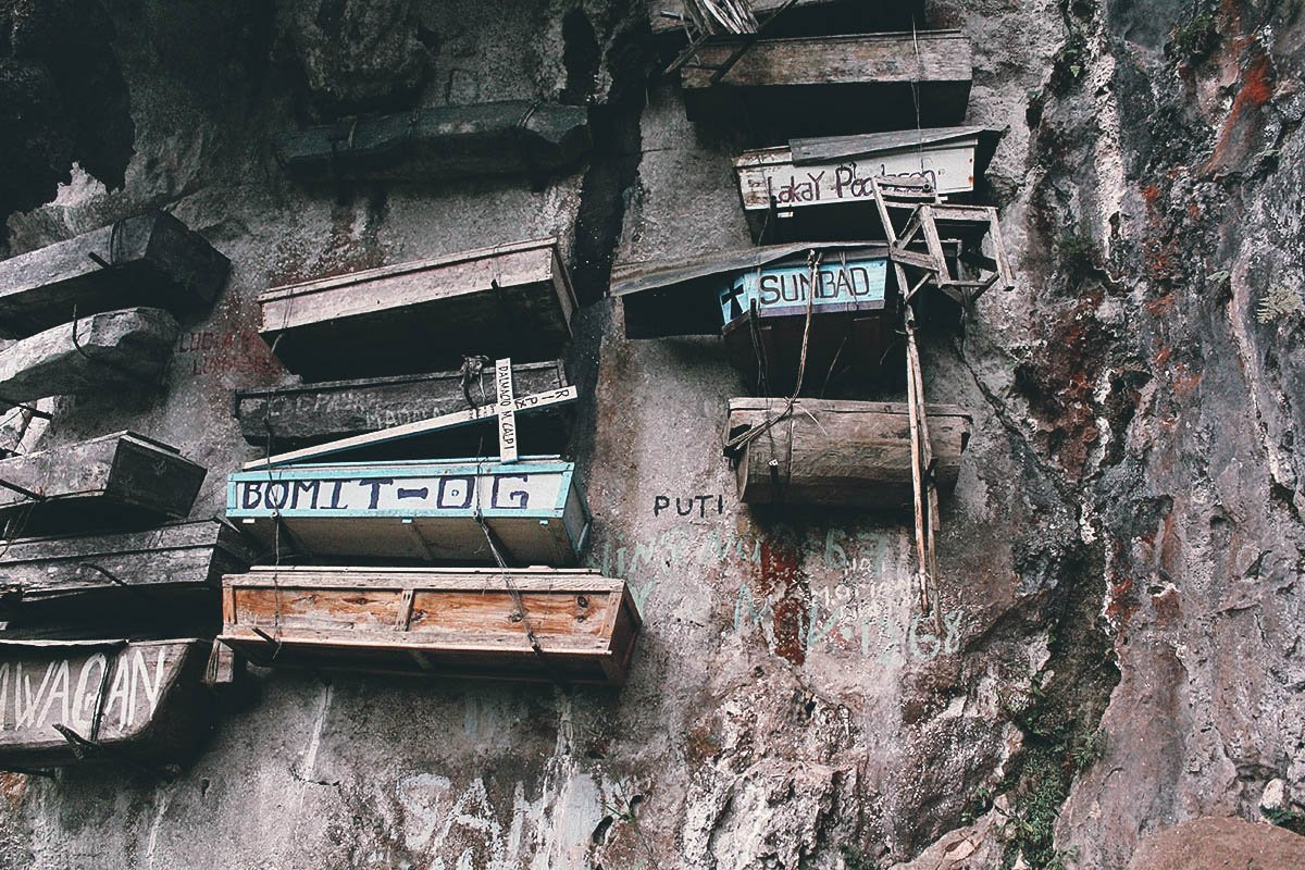 Echo Valley and its Hanging Coffins, Sagada, Mountain Province, Philippines