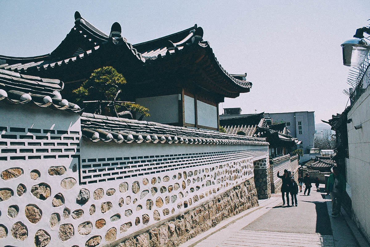 Bukchon Hanok Village, Seoul, South Korea