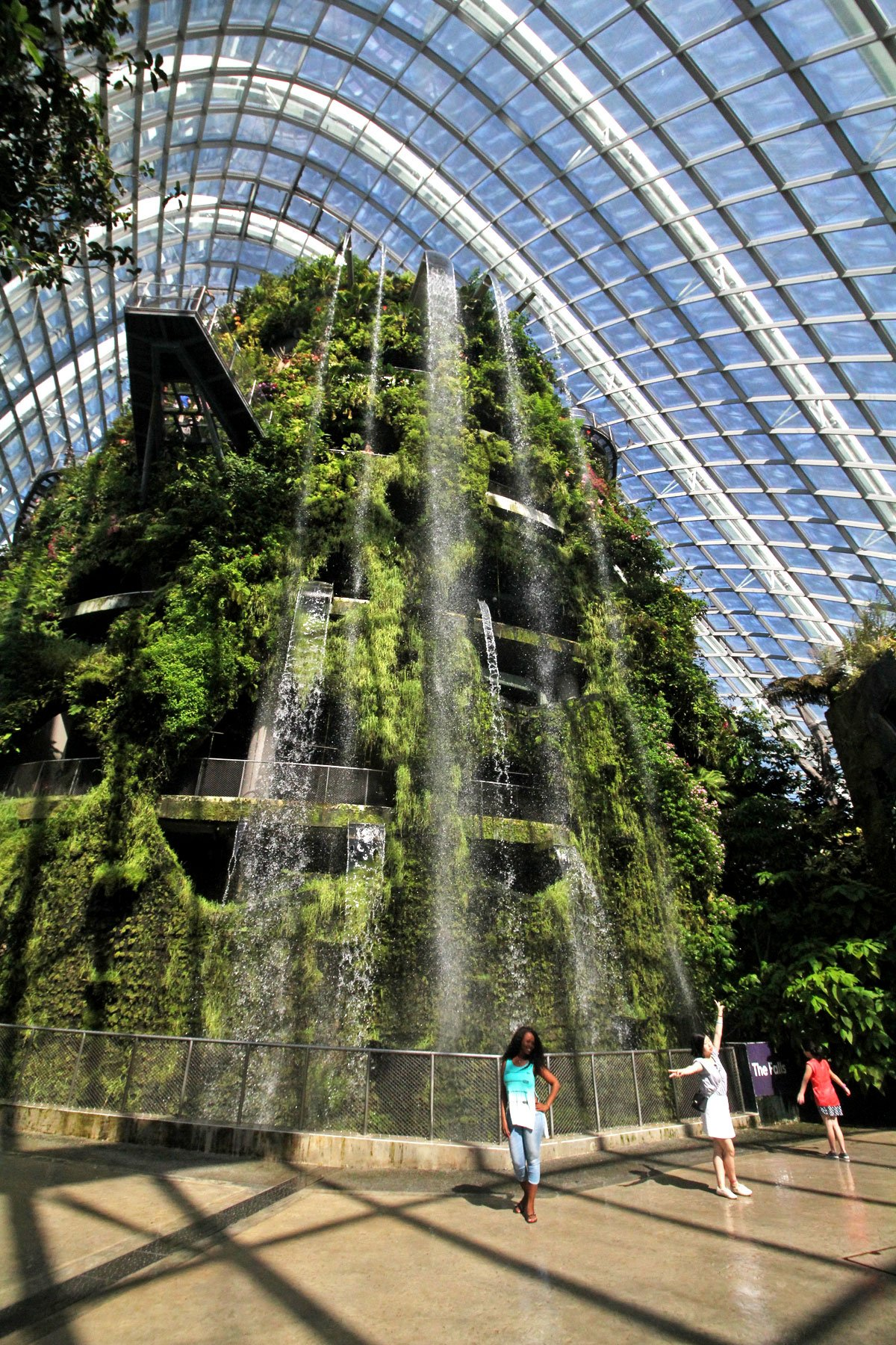 Garden By The Bay Cloud Forest step into a domed mountain realm at cloud forest, gardensthe