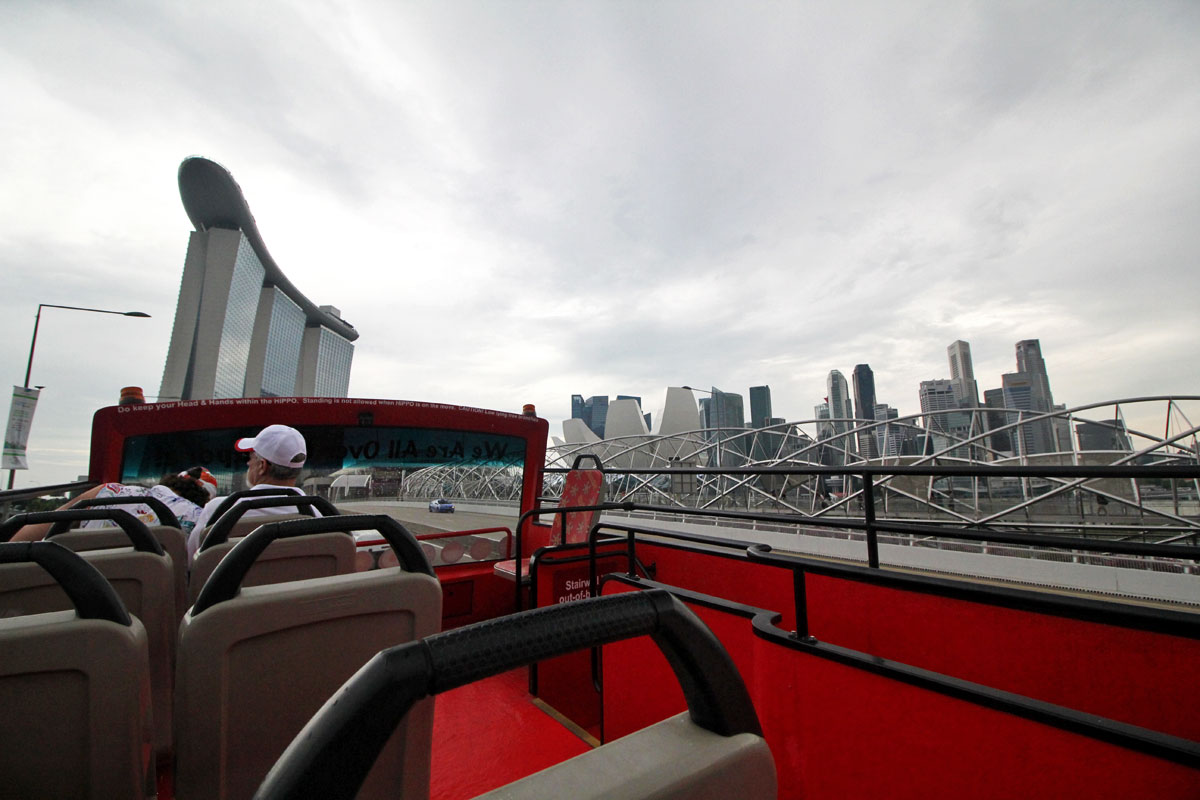 Get to Know Singapore with Duck & Hippo's Hop On Hop Off Tour