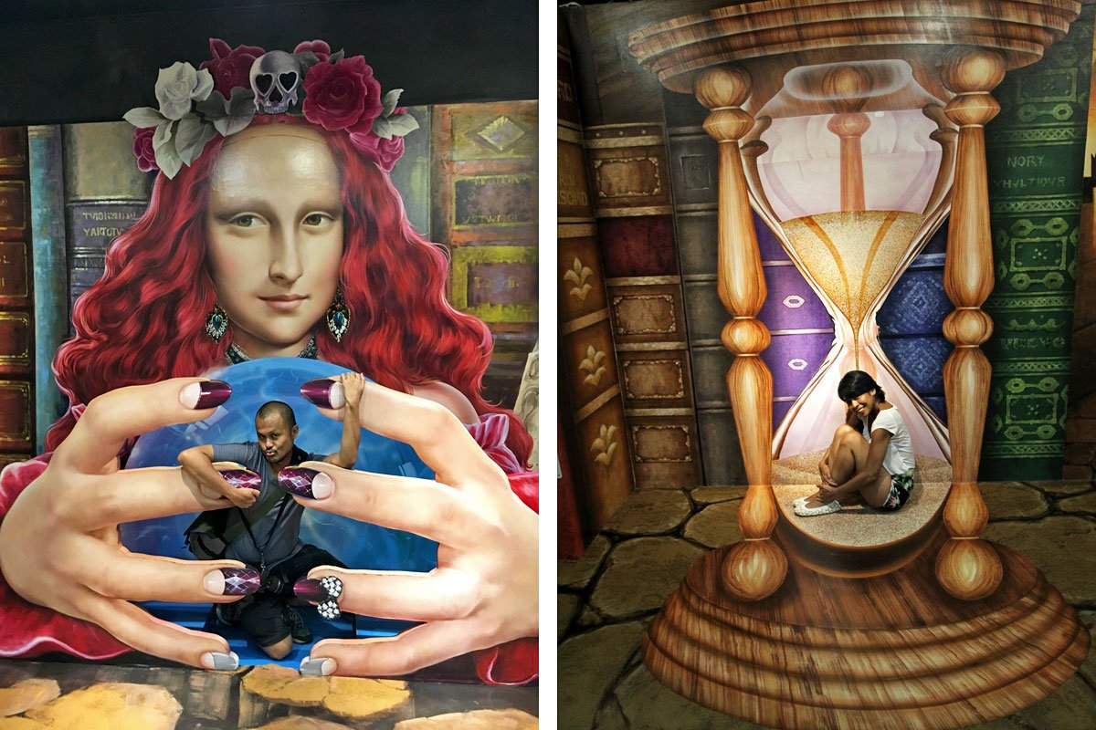 Art Comes to Life at the Trick Eye Museum at Resorts World Sentosa, Singapore