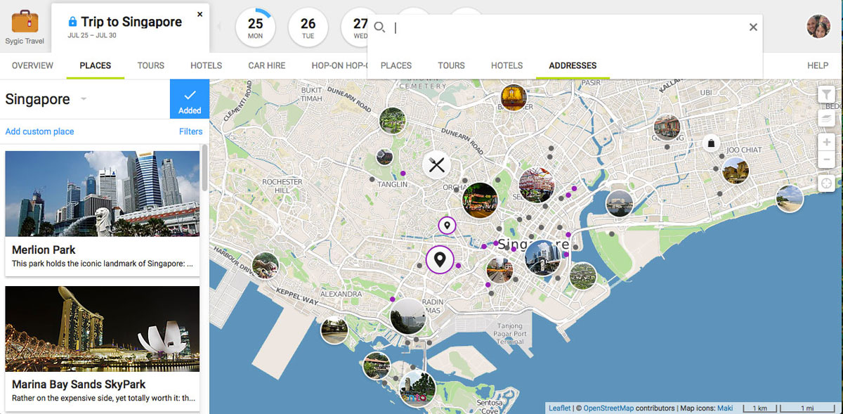 sygic travel the awesome travel planning app formerly known as tripomatic