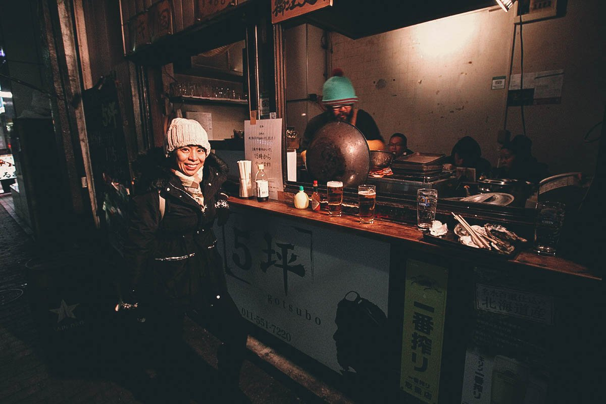 Gotsubo: Where to Have the Juiciest Grilled Oysters in Sapporo, Japan