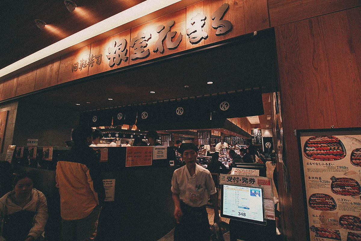 Nemuro Hanamaru: One of the Best Kaiten-Zushi Restaurants in Sapporo, Japan