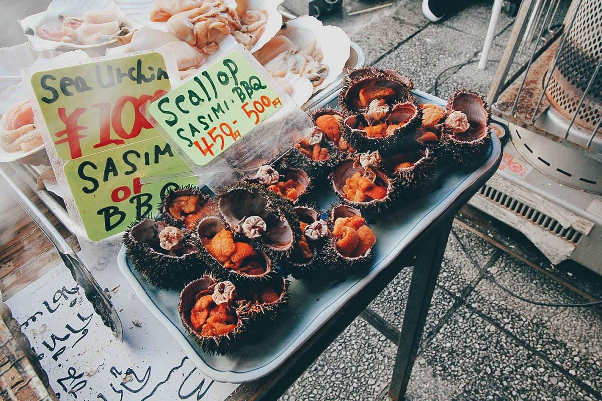 Nijo Market: Where it Sucks to be a Crab in Sapporo, Japan