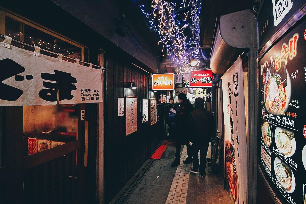 Ramen Alley: Where to Have Miso Ramen in Sapporo, Japan
