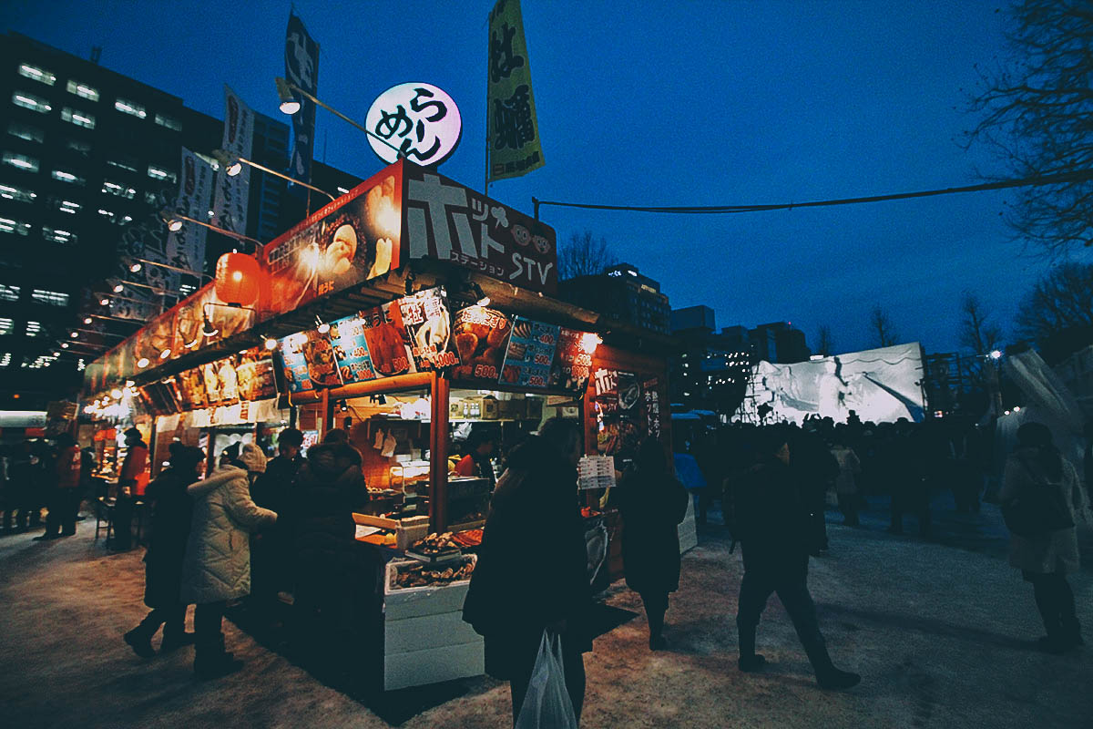 Hokkaido Street Of Food