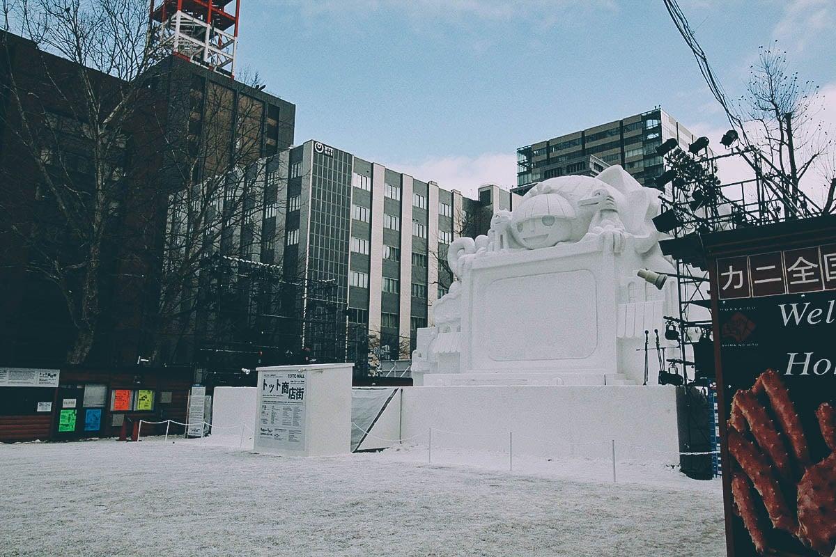 Sapporo Snow Festival, Hokkaido, Japan