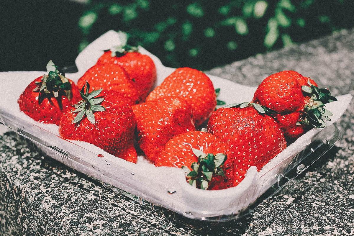 Amao strawberries, Fukuoka, Japan