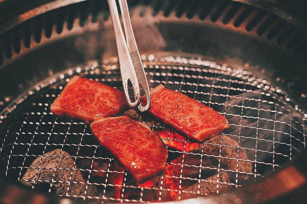 Kobe Beef, Tsurugyu, Osaka, Japan