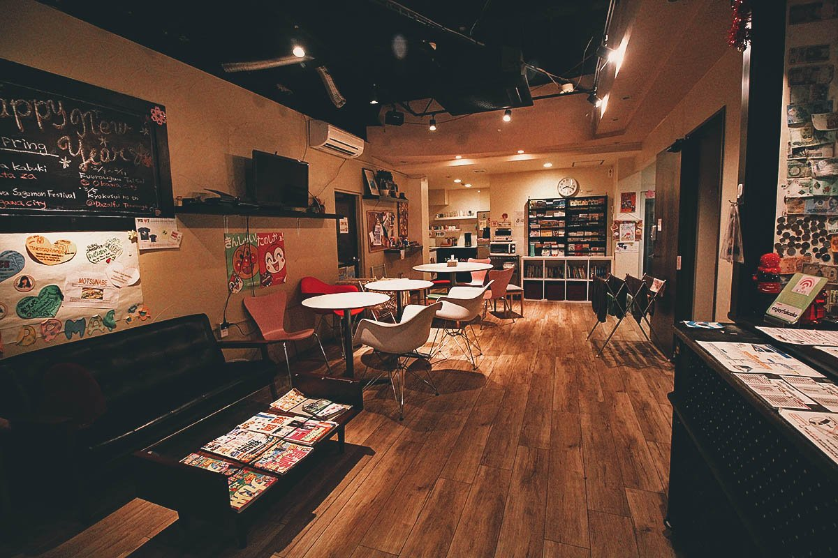 Where to Stay in Fukuoka, Japan: Hana Hostel