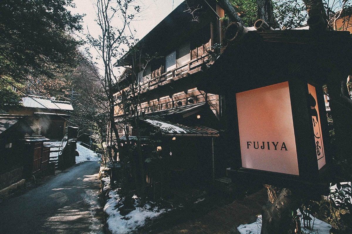 Walking around Kurokawa Onsen